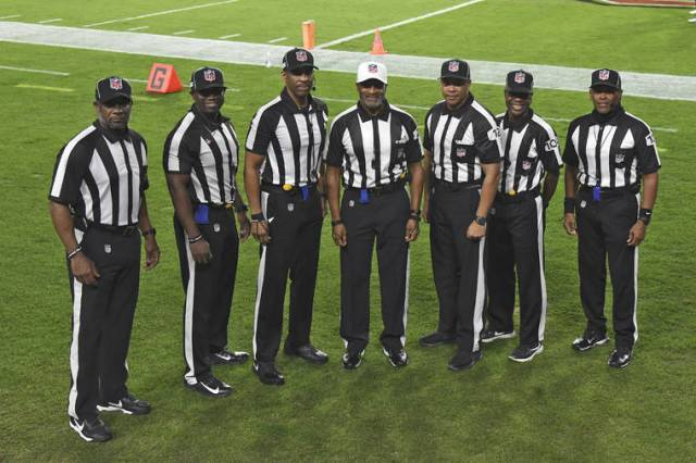 NFL makes history with all-Black officiating crew for Monday Night Football