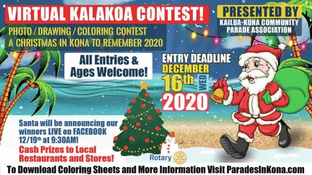 Home for the Holidays: Kalakoa contest replaces Kailua-Kona Christmas Parade in 2020