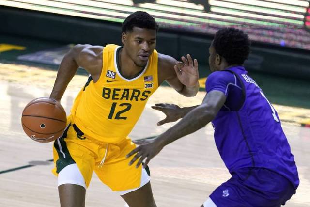 Top 25 capsules: No. 2 Baylor rolls past Stephen F. Austin in delayed opener