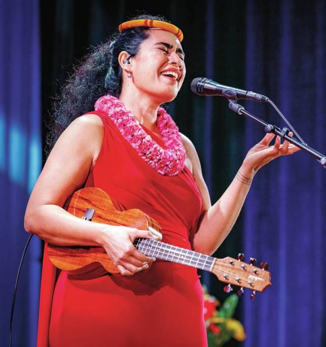Concert Review: Kainani Kahaunaele delivers a soaring show at the Kahilu Theatre