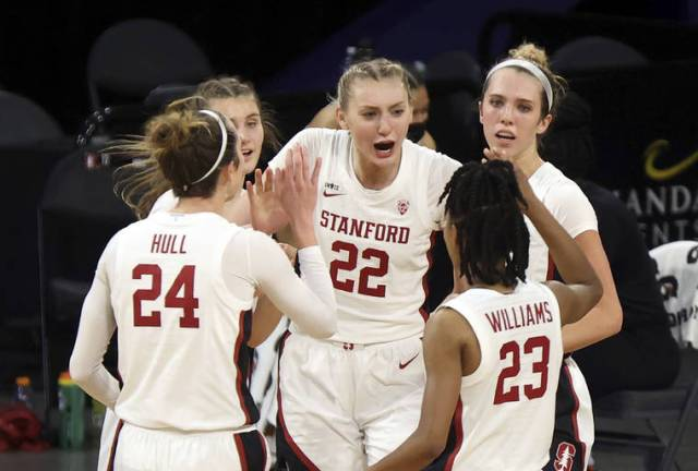 No. 4 Stanford women rout Oregon State to reach Pac-12 final