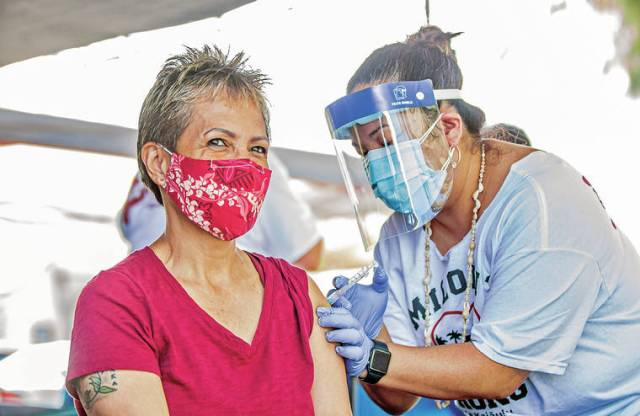 Vaccinating a village: 120 residents of the Miloliʻi Fishing Village receive one-shot vaccine