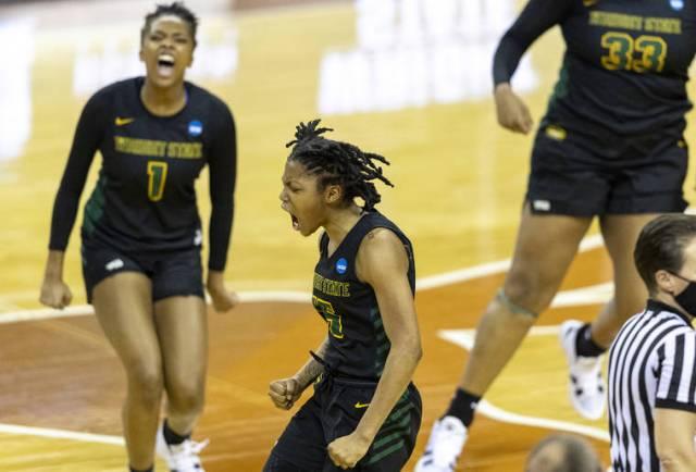 Women's NCAA Tournament capsules: Baker, Wright State upset Arkansas in tournament