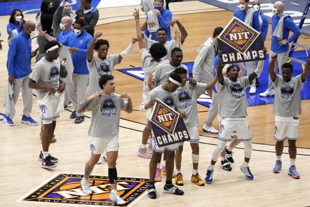 Memphis wins NIT title, has bigger goals for '22