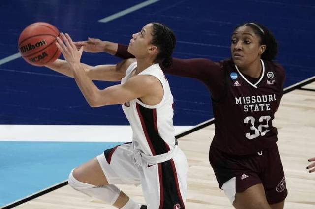 Women's NCAA Tournament capsules: Top-seeded Stanford thrashes Missouri State