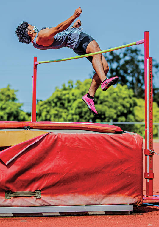 Kealakehe's Caden Young has 'superstar' day as BIIF track and field returns
