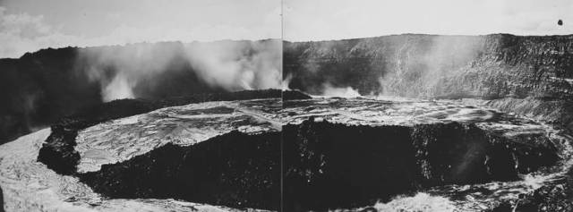 The lava lakes of Kilauea then and now