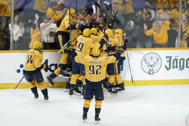 Stanley Cup Playoff capsules: Matt Duchune lifts Predators past Hurricanes in 2OT