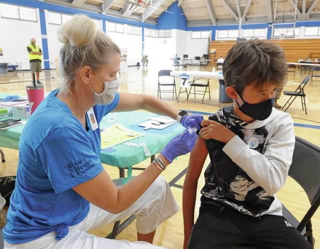 Mass vaccination clinics winding down