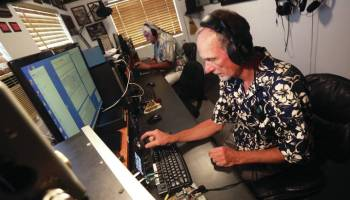 Hamming it up: Big Island radio operators compete in contests