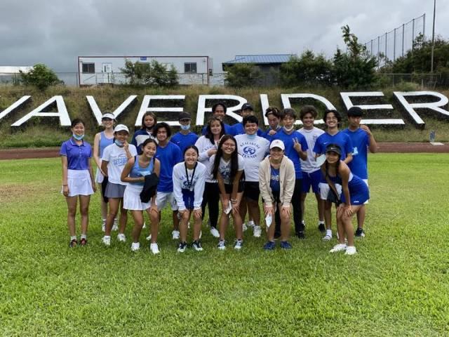 Leaving it all on the court: Kealakehe tennis seniors celebrated