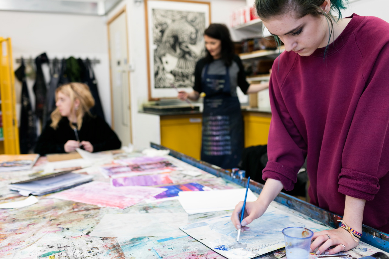 Level 2 Diploma in Art Design and Media West Herts College
