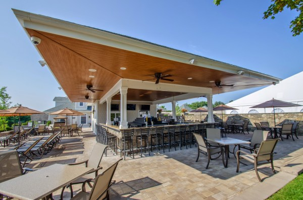 restaurant outdoor patio bars Outdoor Bar and Grill - West Hills Country Club