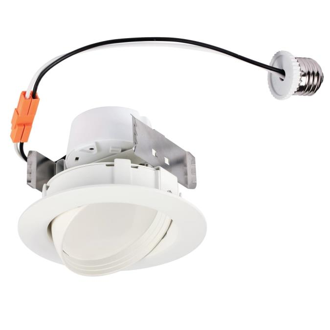 4 inch sloped recessed led downlight