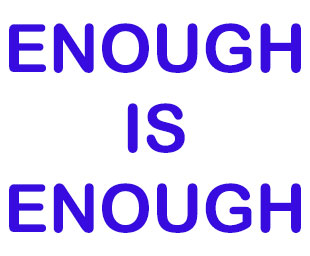 "UGLE says ""Enough is Enough!"""