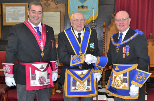 Pictured from left to right, are: Scott Devine, John Altham and David Grainger.