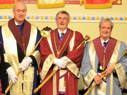 Pictured from left to right, are: Terry Forsyth, Graham Benson and Ken Jones.