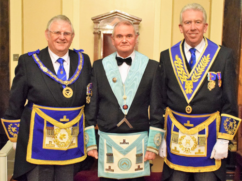 Pictured from left to right, are: Stewart Seddon, Stephen Makin and Mark Matthews.
