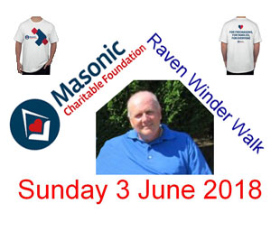 Free MCF T Shirts for registered walkers