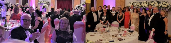 Guests enjoying the Lord Mayor's Ball.