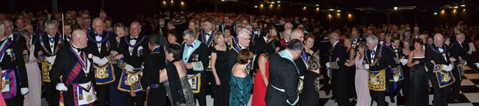 A fabulous night at the Grand Ball and Banquet.