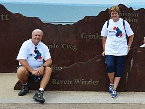 Now you know why the name 'Raven Winder' was chosen for the walk! Dave and Sue Winder reveal all.