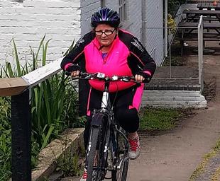 Day three of crafty companions' bike ride