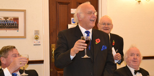 Smiles all round. Pictured left to right, are: Neil McGill, David Ogden, John Heaton and Alan Herron.