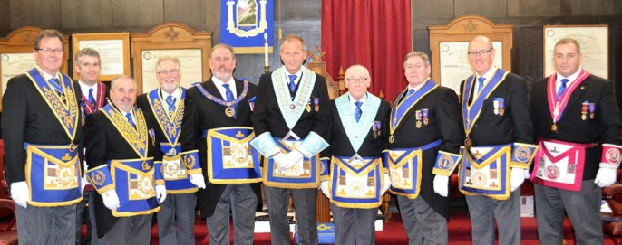 Pictured from left to right, are: Nicholas Waller, Chris Larder, Chris Butterfield, Phil Gardner, Frank Umbers, Anthony Gregg, Brian Waddington, Neil McGill, Graham Dowling and Scott Devine.