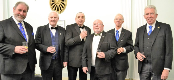 Pictured from left to right, are: Frank Umbers, Brian Boyle, Tom Grimes, Jim Bilsborough, Dave Southward and Mark Matthews.