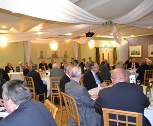 Charity marks a successful group dinner