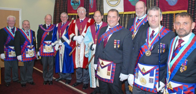Pictured from left to right are: Keith Jackson, Chris Butterfield, Barry Jameson, John Helm, Bill Williamson, Stephen Parker, Scott Devine, Andrew Bartlett, Chris Larder and David Thomas.