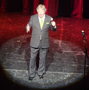 Jim Davidson hosted our 'Night with the Stars'.