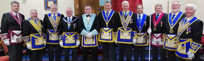 Pictured from left to right, are; Chris Larder, Chris Butterfield, Phil Gardner, Keith Kemp, Jim Hamilton, Scott Devine, Raymond Firth, Paul Mason, David Ingham, Norman Lay and Jim Wilson.