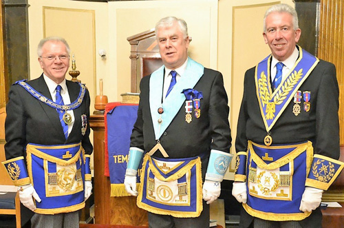 Pictured from left to right, are: Derek Parkinson, Dave Johnson and Mark Matthews.
