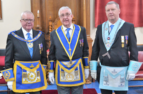 Pictured from left to right, are: Keith Kemp, Doug Willoughby and David Shaw.