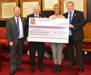 WLFC award £5000 to the Proto Beam Therapy Appeal