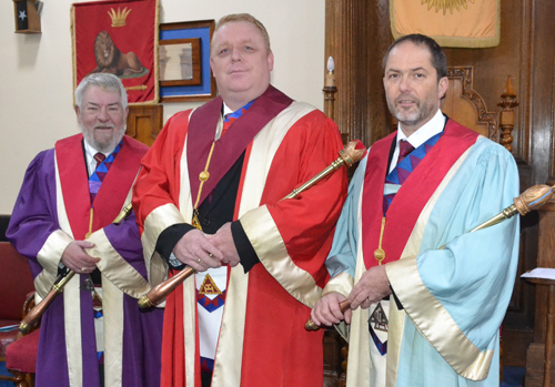 Pictured from left to right, are: Phil Irving, Dan Crossley and Paul Mason.