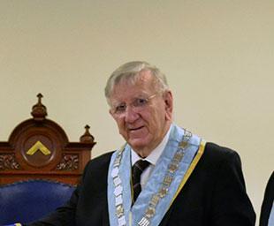 Sovereign's Peace installs Richard Wilson