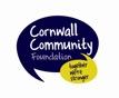 Cornwall Community Foundation Logo - Westland Countryside Stewards Funding Mower
