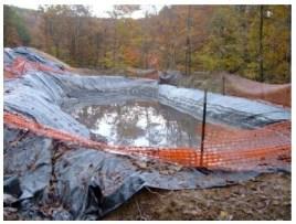 Fracking Wastewater Pit