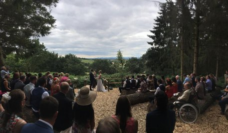 Wedding - Gemma and Murray. Service conducted by Ruth Graham Independent Celebrant.