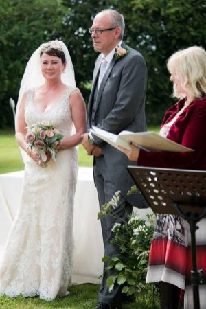 Wedding - Jodie and George. Service conducted by Ruth Graham Independent Celebrant.