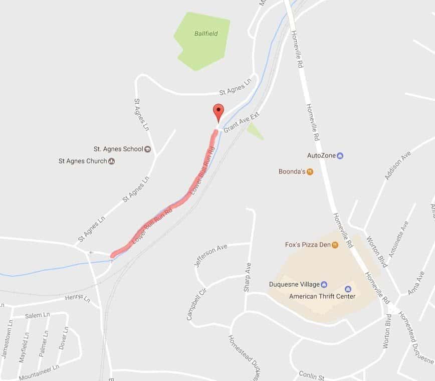 ROAD CLOSURE – Lower Bull Run Road