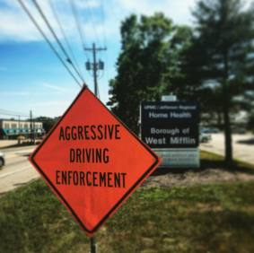 West Mifflin Police Department to participate in aggressive driving initiative