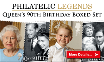 Queen's 90th Birthday boxed set