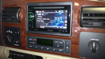 Hanover, PA Client Gets In-Dash DVD In 2005 F250 Super Duty