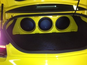 camaro sound system