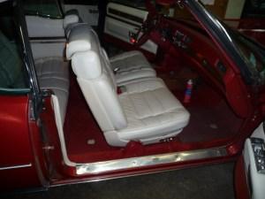 front seats Cadillac Eldorado
