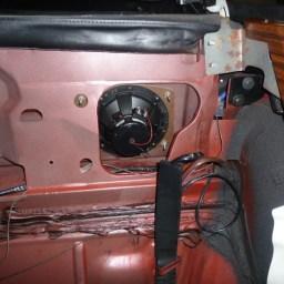 Cadillac Eldorado rear speaker